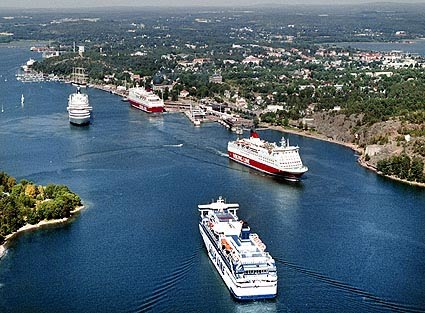 Åland Från Kapellskär