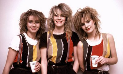 Acceptable in the 80s Ö Stock, Aitken and Waterman act Bananarama in 1983.