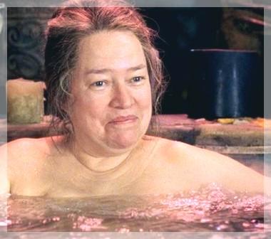 Nudist kvinna
