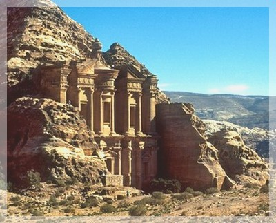 petra jordanien resa