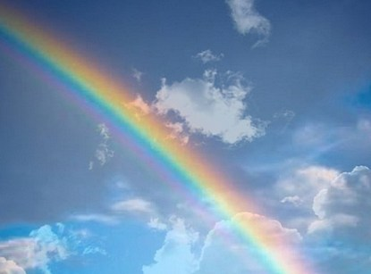 vilka färger har en regnbåge