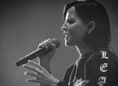 The Cranberries in concert at The London Palladium, London, UK - 20 May 2017