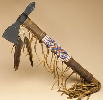 Navajo Indian old style tomahawk