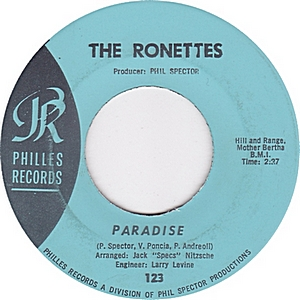 the-ronettes-paradise-philles-records