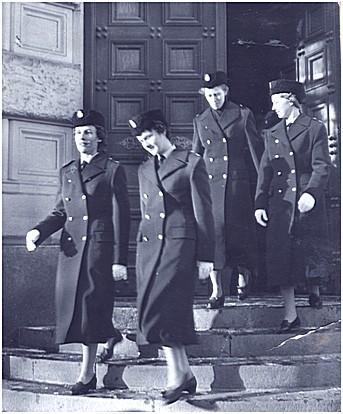 Women police in Stockholm, 1958