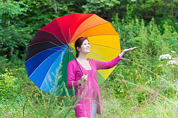 female-umbrella