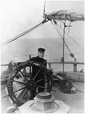 William-Boyd-actor-at-wheel-of-ship-Indiana