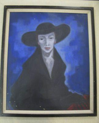Pastell, Beth Lagerlund, 1958