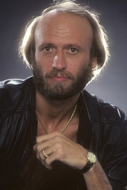 """""""The Bee Gees"""" Maurice Gibb 1983 © 1983 Mario Casilli"""