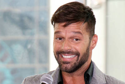 Ricky Martin announces his new residency at the Monte Carlo Hotel & Casino