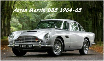 1964-65 – Aston Martin DB5