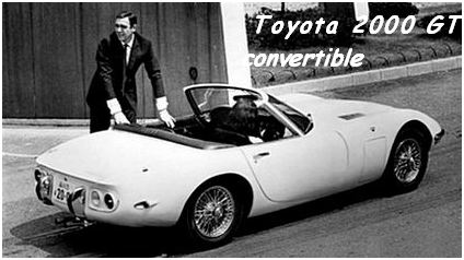 Toyota 2000 GT convertible
