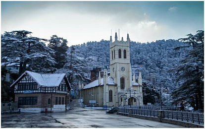 Christ-Church-in-Shimladecember