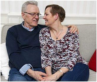 Tv-mediet Terry Evans om sin nya kärlek: Andarna sa att Astrid skulle bli min.