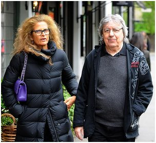 Bill Wyman Out For Lunch At The Ivy Chelsea Gardens