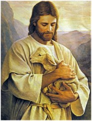 Jesus-holds-lamb
