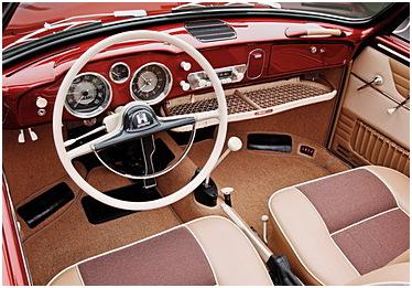 Volkswagen Karmann Ghia57inuti