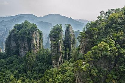 China nature landscape