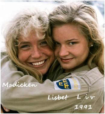 Madicken och Lisabeth1991
