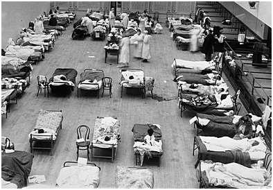 1918Spanska sjukan