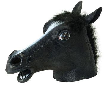 hasthuvud-svart