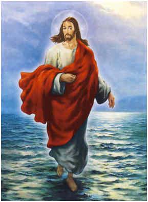Jesus gick på vatten