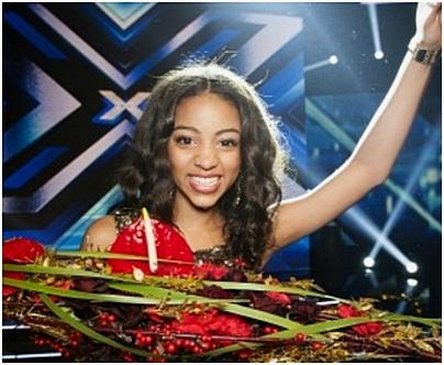 X Factor. Segraren 2012. Awa Santesson-Sey.