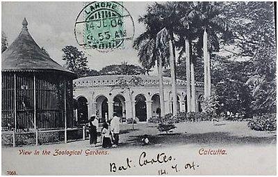 1904-Postcard-Calcutta-India