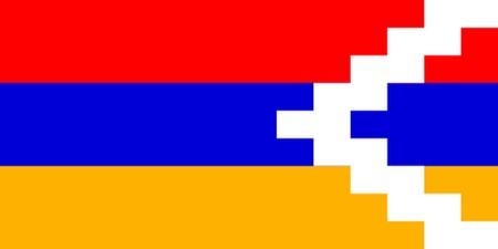 nagorno-karabachs-flagga