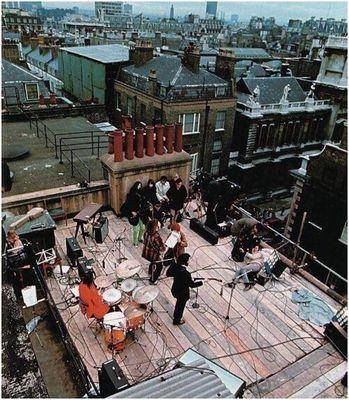 sista beatles taket