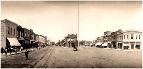 ettMainStreet1909Coffeyville, Kansas