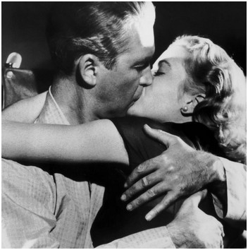 grace kelly james stewart kiss