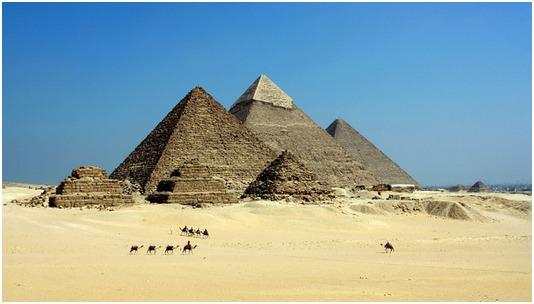 Cheopspyramiden, Egypten